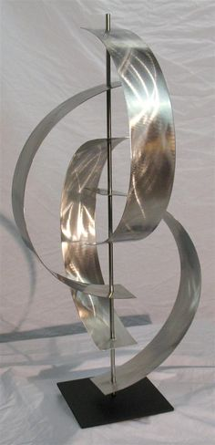Contemporary Metal Sculptures | ... sculptures. Take a look at the Sculpture Bases and Stands Here . The