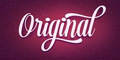 Font of the day: Voyage