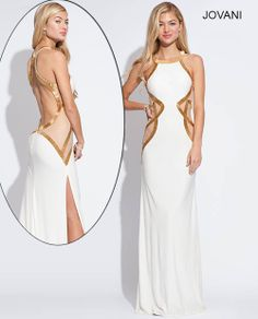 I am so in love with this greecian styled dress. This is one sexy, classy, and show stopping dress. I've got to get one!