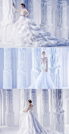 Michael Cinco bridal dresses