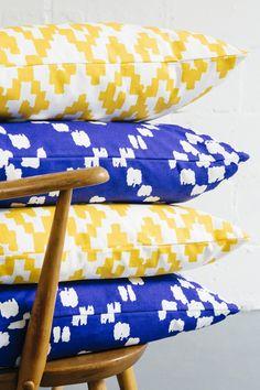 Zamboanga Yellow cushion