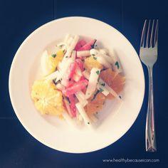 Healthy. Because I Can!: Jicama Salad