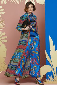 Etro Resort 2018 Fashion Show Collection