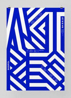 Image of the Day: Poster for Südpol a multi-purpose cultural center in Kriens, Switzerland. Design by Felix Pfäffli. Graphic Design Posters, Graphic Design Typography, Graphic Design Inspiration, Buch Design, Design Art, Print Design, Mises En Page Design Graphique, Art Graphique, Typography Layout