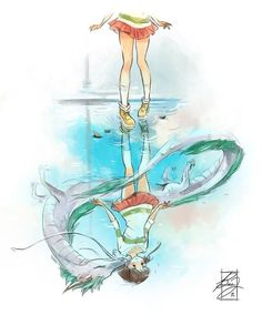 "Studio Ghibli France en Twitter: ""Très beau fan-art du film ""Le voyage de Chihiro"" signé Bea https://t.co/YlERTTbBPE #SpiritedAway #Ghibli #StudioGhibli #FanArt #Chihiro https://t.co/kKJbYqIxWo"""