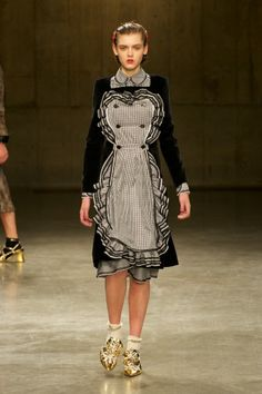 The Style Examiner: Meadham Kirchhoff Womenswear Autumn/Winter 2013