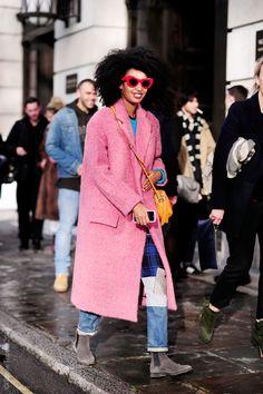 "cityoffashion:  ""Streetstyle: Julia Sarr Jamois Fashion Editor-At-Large and Stylist in London  """