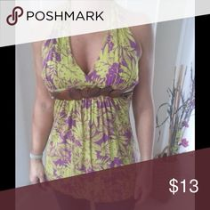 Green and purple top. FREE gift included! NWOT Awesome green and purple top that is great with jeans, shorts or skirt. Size M. Brand new. FREE gift with this purchase included. AMISU Tops Blouses