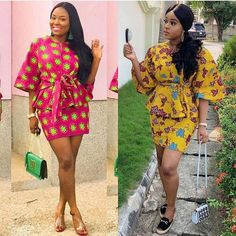 2019 Stunning And Trendy Ankara Gown Fashion styles To check out Ankara Short Gown, Ankara Dress Styles, Ankara Gowns, African Attire, African Fashion Dresses, African Dress, Ankara Fashion, African Wear, African Style