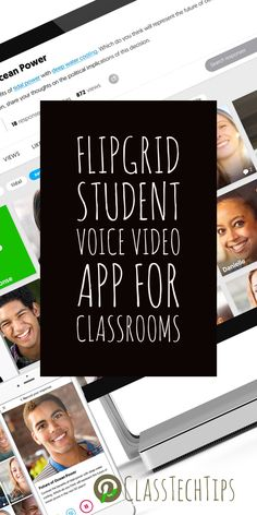Video tool for teachers and students! How are you using video in your classroom? Flipgrid is a terrific video app designed to amplify student voice and empower students as learners.
