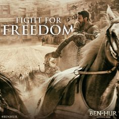 New Poster Art Revealed for BEN-HUR in theaters August 19, 2016