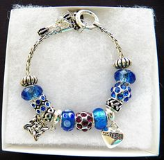"""$10.00 Silvertone Beaded 'Sister"""" Bracelet (82915-1382MS) jewelry, collectibles, gifts #DaVinci #Beaded"""