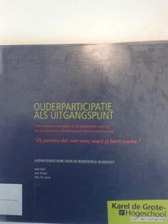 ouderparticipatie: inspiratiebrochure voor de residentiële jeugdhulp