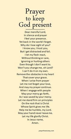 Prayers For Strength:This prayer helps remind you to keep God present. Focus on Christ instead of conflicts. Prayer Times, Prayer Scriptures, Bible Prayers, Faith Prayer, God Prayer, Power Of Prayer, Prayer Quotes, Bible Verses Quotes, Spiritual Quotes