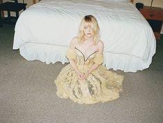 W Magazine February 2013: Alexander McQueen Spring 2013 RTW Silk Organza Bustier Dress