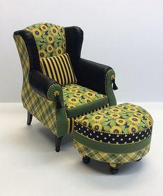 Whimsical miniature furniture