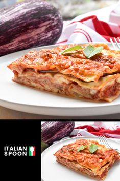 Lasagne alle melanzane makes an easy and delicious lasagne recipe the whole family will love. Bake our lasagne combining eggplant, ham and the best bechamel sauce for a mouth-watering treat. Get cooking today! Make Your Own Pasta, Eggplant Lasagna, Lasagne Recipes, Italian Pasta Recipes, Food Mills, Bechamel Sauce, Pasta Machine, Gnocchi, Pasta Dishes