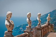 "Villa Cimbrone...""Terrace of the Infinite""... (Almafi Coast, Italy)"