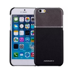 MOMAX Elite Series PC   PU Leather Back Case Cover for iPhone 6 4.7 Inch - Black US$17.69