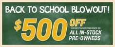 Red Lion Chevy (@chevy993) | BACK TO SCHOOL SAVINGS AT RED LION CHEVY.
