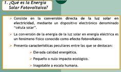 Qué es la energía solar fotovoltaica
