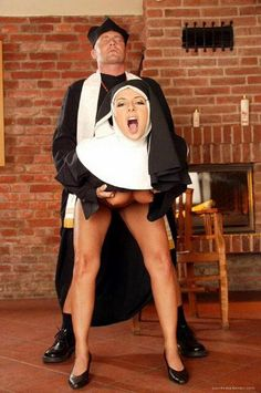 Naughty naked nuns