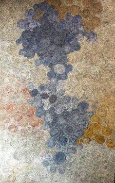 Water Dreaming (Ngapa) by Maureen Hudson Nampijinpa at the Australian Aboriginal Art Directory Gallery. Aboriginal Painting, Aboriginal Artists, Encaustic Painting, Indigenous Australian Art, Indigenous Art, Australian Artists, Illustration Art Drawing, Art Drawings, Illustrations