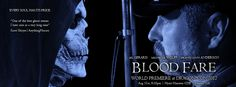 Dragon*Con 2012 World Premiere Banner of award winning action filmmaker J.A. Steel's upcoming horror feature BLOOD FARE starring Gil Gerard, Michelle Wolff and Brandi Lynn Anderson. Special makeup effects by Chris Hanson (HELLBOY, UNDERWORLD). Digital coloring by Warner Bros. Motion Picture Imaging. Original song mastering by Universal Music Mastering's Grammy® winning Erick Labson.