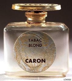 Again, I just have some smaller vials, but that's because the vintage wears better than the reformulation (of course)...  Tabac Blond perfume, created in 1919 by Ernest Daltroff for the House of Caron