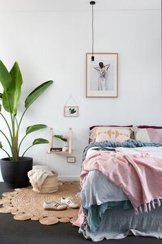 DIY Bedside Table on the Wall 11 Creative and Unconventional Side Tables