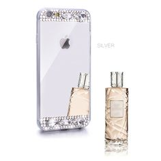 iAnko Luxury Handmade Bling Crystal Diamond Mirror TPU Soft Gel Phone Case Cover For Apple iPhone 6 Plus & iPhone 6s Plus 5.5 Inch (Silver 2). Intimate Design: Electroplating fitted skin back cover case. Can be used a case as well as a mirror. High quality: Fully handmade bling diamonds. The case is luxury, shining and cute. Must be the necessary for a fashion idol. Better Protection: The product is made of soft silicone and will protect your cellphone from dropping,dust and scratching....