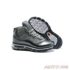 100% authentic 37982 23811 Hommes Nike Air Jordan 11 Fusion Max Argent Gris Air Jordan Homme