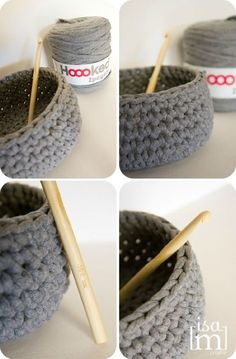crochet projects for bedroom Chat Crochet, Crochet Diy, Crochet Home, Diy And Crafts Sewing, Crafts For Teens, Craft Videos, Crochet Projects, Lana, Creations