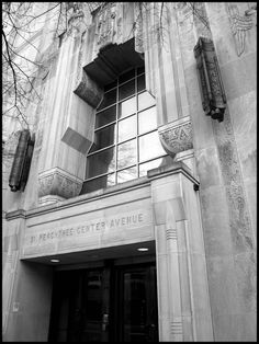51 Peachtree Center Avenue, also known as the Bell South Telephone Building, in Downtown Atlanta, Georgia.