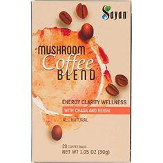 Ranking the best mushroom coffee of 2021 Halal Snacks, Best Superfoods, Maitake Mushroom, Green Coffee Bean Extract, Superfood Powder, Coffee Health Benefits, Blended Coffee, Coffee Creamer, Medical Prescription