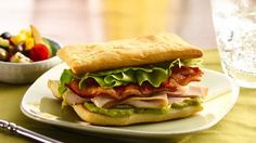Build a better sandwich when you bake flaky Crescent dough and stack it with the irresistible combo of turkey, bacon and guacamole.