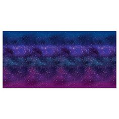 Beistle Galaxy Wall Backdrop Photo Booth Background Space Decorations Birthday Party Supplies, x Blue/Purple/White Galaxy Theme, Galaxy Art, Galaxy Room, Party Kulissen, Photo Booth Background, Outer Space Party, Wall Backdrops, Galaxy Design, Backdrops For Parties