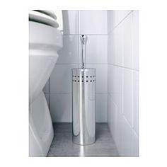 BAREN Toilet brush, stainless steel - - - IKEA $7