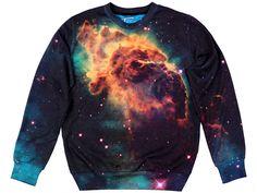 Original Sexy Sweater COSMIC NEBULA | Fusion® clothing!