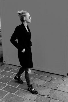 Smoking Kleid Zara #lotd #ootd #fashion #bloggerb#smokingkleid #streetstyle #whatiwore #look