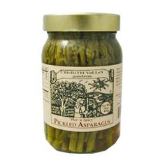 Hot 'n Spicy Pickled Asparagus