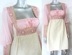 VINTAGE GUNNE SAX MICRO MINI REPUNZEL MINI DRESS