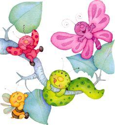 MARIPOSAS libélulas | manualidades párr Imágenes Muy divertido grande del Material Escolar | colección de arte de la ilustración de arte