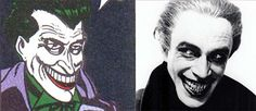 5 Characters You Won't Believe Are Based on Real People Conrad Veidt, Fish Mooney, The Man Who Laughs, Mafia Crime, Time Warner, Lex Luthor, Im Batman, Black Mask, Silent Film