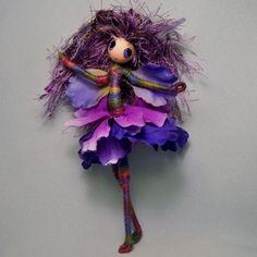 Flower Fairy OOAK Forest Fantasy Faerie Art Doll by Rhiannon   eBay