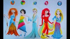 Social Media Disney Princesses
