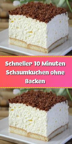 INGREDIENTS 500 ml whipped cream 500 ml milk 2 pack Dr. - INGREDIENTS 500 ml whipped cream 500 ml milk 2 pack Dr. Oetker Galetta 1 minute cream pudding with v - Easy Cake Recipes, Keto Recipes, Cookies Roses, A Food, Food And Drink, Macaron, Food Cakes, Keto Dinner, Food Items