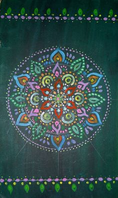 Waiting - artist ~AniDandelion on deviantART  #mandala #art #journal