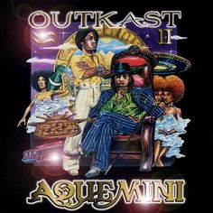 Outkast Aquemini on 3LP 1998's Aquemini is the ambitious third studio release from the hip hop duo OutKast and follow-up to 1996's ATLiens. Featuring a complementary instrument-heavy production from O