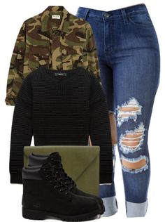 Outfits for teens, tims outfits, fall swag outfits, dope outfits, schoo Cute Swag Outfits, Dope Outfits, Trendy Outfits, Tims Outfits, Outfits With Black Timberlands, Trendy Dresses, School Outfits, Black Timberland Outfits, Classy Outfits